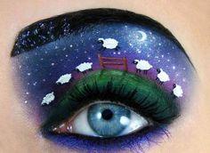 Playful Eye Makeup #playful #eye #makeup