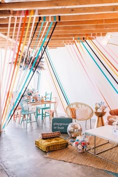 Cutest boho party set up! Grad Parties, Holiday Parties, Birthday Parties, Festa Party, Throw A Party, Modern Kids, Event Decor, Event Ideas, Bunt