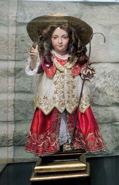 Niño Jesús Peregrino. Anónimo s. XVIII.