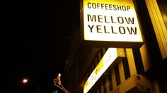 Coffeeshop Mellow Yellow in Amsterdam, Noord-Holland