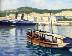 The Port of Algiers / Albert Marquet