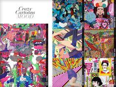 Crazy Cartoons Mood - Catwalk Print & Pattern Trend Report Autumn/Winter 2014/15