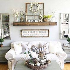 38 Brilliant DIY Living Room Decor Ideas | Ideas for the Home ...