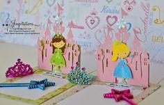disney princess castle invitations