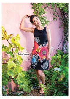 Robe Aurélia, Coton Du Monde Collection Printemps/Eté 2016 Spring Summer 2016, Hobo Chic, Ethnic, Boutique Online Shopping, Woman Clothing, Dress
