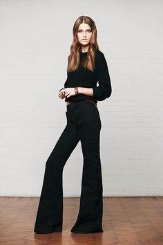 Denim trend: jeans a zampa e a palazzo per l'Autunno Inverno 2014/15 - UnaDonna