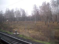 Desde la ventana del tren