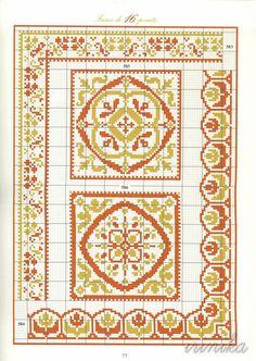 Gallery.ru / Фото #75 - книга - irinika Cross Stitch Borders, Cross Stitch Alphabet, Cross Stitch Flowers, Cross Stitch Charts, Cross Stitching, Cross Stitch Embroidery, Seed Bead Patterns, Embroidery Patterns, Cross Stitch Patterns