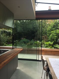 Glass Doors, Home Renovation, Home Projects, Planting, Mid-century Modern, Extensions, Beach House, Kitchen Ideas, Minimalism