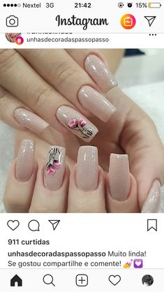Fancy Nails, Trendy Nails, Cute Nails, Perfect Nails, Gorgeous Nails, Nail Manicure, Gel Nails, Painted Toe Nails, Blush Nails