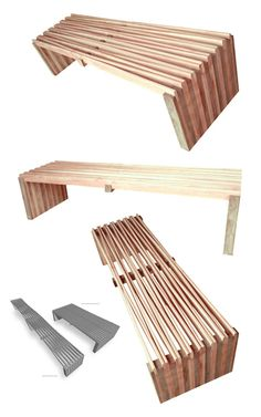 Certified and Recovered Wood Design Furniture by Arqom : TreeHugger