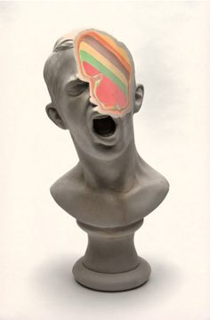 Check out these jawbreaker-like, humorous busts... - Exhibition-ism