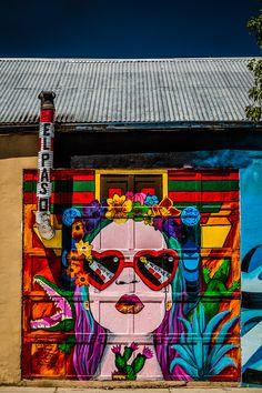 EP Street Art - BillChizekPhotography.com  Street art near Union Plaza in downtown El Paso, TX.
