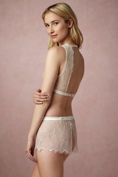1c50cc4b00 Shop our vintage-inspired bridal lingerie collection. BHLDN offers a  variety of wedding lingerie perfect for your wedding night and beyond!