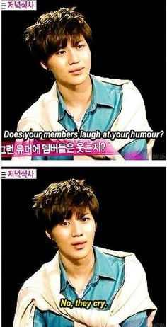 Poor Taemin...<<But let's be honest he probably wants to make them cry anyway.