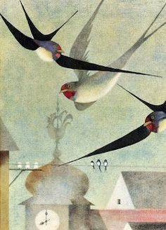 ganet bird paintings catriona hall - Google Search