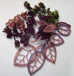 """Juki Manufaktura for necklace """"Forest of desire"""""""