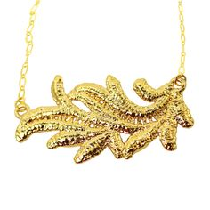 Monika Knutsson: Mollie Lace Necklace, in Gold or Sterling Silver #MarthaStewartAmericanMade #Pendant
