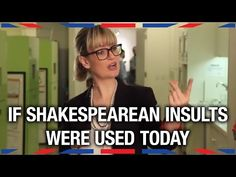 WATCH: If Shakespearean Insults Were Used Today... | Anglophenia | BBC America