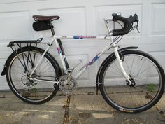Specialised Stumpjumper touring conversion
