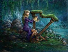 mossy harp!