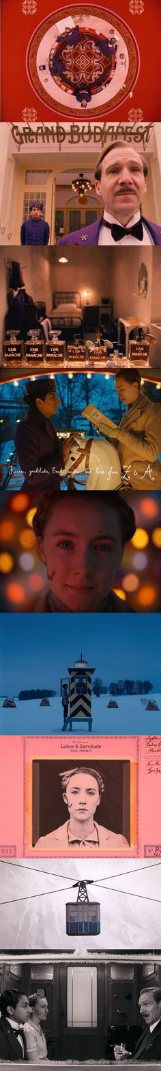 The Grand Budapest Hotel - Wes Anderson If you haven't seen this movie yet, you need to.