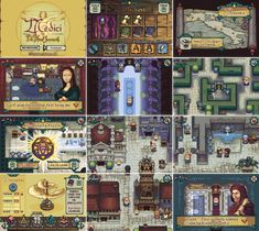 Gameboy Advance | Leonardo DaVinci RPG Puzzler | 77 colors - cool art :)