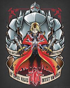 Brotherhood by Jerry Nowlin. Fullmetal Alchemist