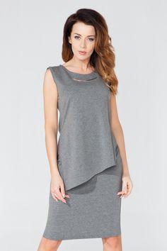 Sleeveless Blouse, Peplum Dress, Blouse Models, Business Wear, Lingerie, Office Wear, Vogue, Skirts, Cotton