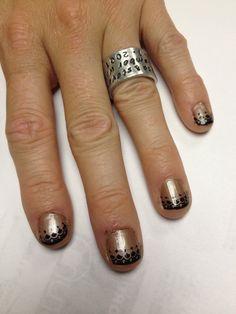 Nail stamping  - nail art #nailart