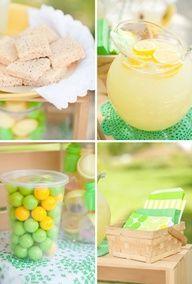 lemonade party ideas