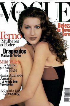 Gisele Bundchen  todas as capas da Vogue Brasil estreladas pela top (Foto   Editora 925d5b6555