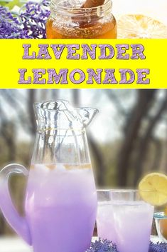 Nothing beats the summer heat like a glass of cold Lavender Lemonade. Did you know the scent of lavender may provide anxiety, headache and insomnia relief? Refreshing Drinks, Summer Drinks, Fun Drinks, Healthy Drinks, Healthy Kids, Beverages, Non Alcoholic Drinks, Cocktail Drinks, Cocktails