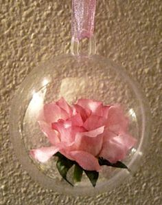 Flower Soft & Terrarium Craft: Floral and leaf beads, Glass Vials and domes, Ornaments, Miniature Garden or Model Train Supplies Bottles Jar...