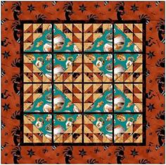 Terracotta Dreams Quilt Pattern FREE-005e