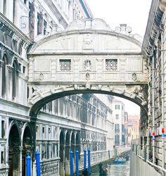 Bridge of Sighs, Venice (Italy)