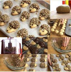Печенье Ежики рецепт понравится как взрослым, так и детям. Особенно детвора будет в восторге!