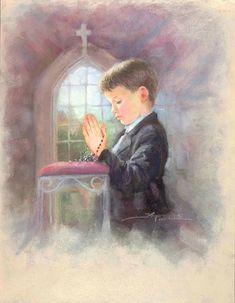 Communion  Children Kathryn Andrews Fincher.
