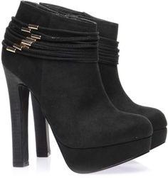London Rebel gold trim ankle boots in UAE | Souq Fashion | Souq
