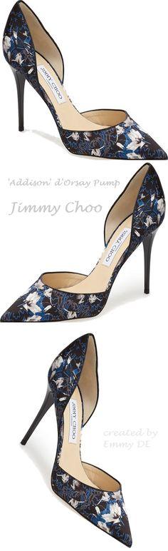 Emmy DE * Jimmy Choo 'Addison' https://www.pinterest.com/lahana/shoes-zapatos-chaussures-schuhe-%E9%9E%8B-schoenen-o%D0%B1%D1%83%D0%B2%D1%8C-%E0%A4%9C/