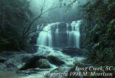 Long Creek Falls, Oconee County South Carolina Waterfalls