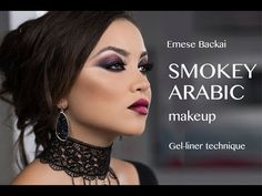 0210e4d3d100c ARABIC SMOKEY EYES with Emese Backai. Arabic MakeupSmokey ...