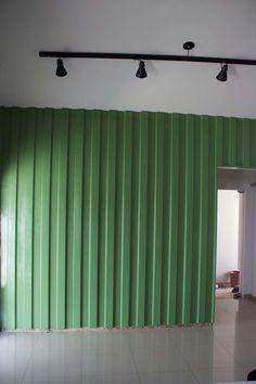 Parede container : telha galvanizada