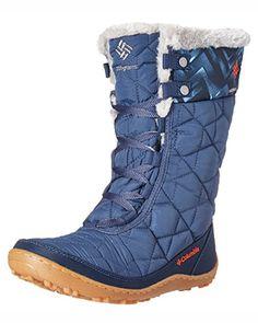 Columbia Women's Minx Mid II Omni-Heat Print Snow Boot #BL1626-478 - Runnwalk