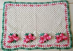 O bom do croche: Tapetes