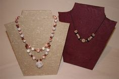 DIY Necklace Display Stand - Clink on link for a PDF