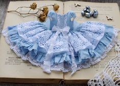 Платье для кукол Блайз!!! выполнено под заказ!!!! Dress for Blythe dolls...made to order!!!! *********** ️… Kids Outfits, Cool Outfits, Doll Repaint, 1 Girl, Little Girl Fashion, Barbie Dolls, American Girl, Doll Clothes, Little Girls