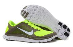 f7bc99b33774 For Wholesale Womens Nike Free Olive Khaki White Volt Shoes