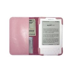 pretty pink kindle cover