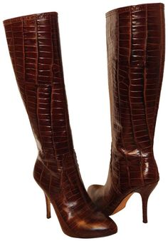 Get the must-have boots of this season! These Joan & David Brown Dahynes Croc Print Knee High Boots/Booties Size US Regular (M, B) are a top 10 member favorite on Tradesy. Save on yours before they're sold out! Denim Shoulder Bags, Leather Shoulder Bag, Knee High Boots, Over The Knee Boots, Heeled Boots, Bootie Boots, Botas Sexy, Joan David, Chanel Classic Flap